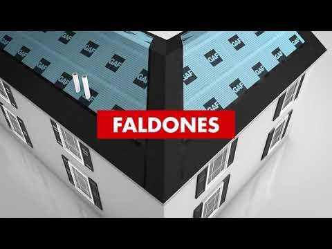Tiras Iniciales – Instalación de Valle y Faldón | GAF Serie Pro