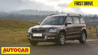 2014 Skoda Yeti Facelift | First Drive Video Review