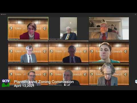 Planning & Zoning Commission, April 13, 2021