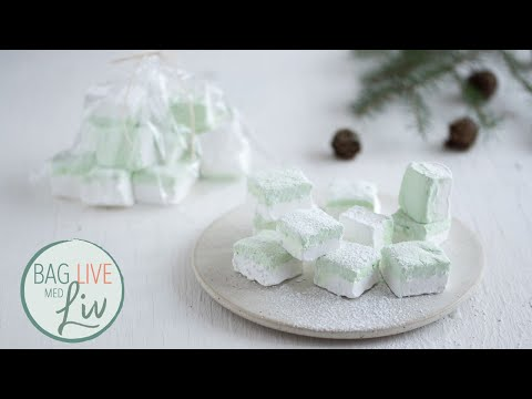 1. søndag i advent: Hjemmelavede skumfiduser   Bag live med Liv Martine