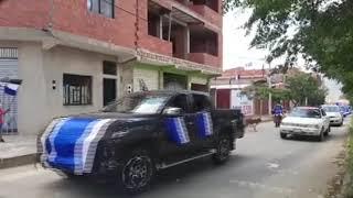 MULTITUDINARIA CARAVANA RECORRIERON LAS CALLES DE TARIJA JUNTO AL PRESIDENTE LUIS ARCE Y ALVARO RUIZ