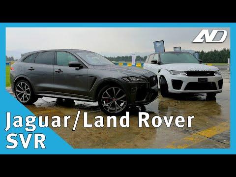 Las camionetas británicas mas deportivas: F-Pace SVR y Range Rover Sport SVR - Primer Vistazo