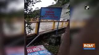 Gangotri highway shut due to falling rocks - INDIATV