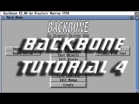 Backbone Amiga Tutorial 4