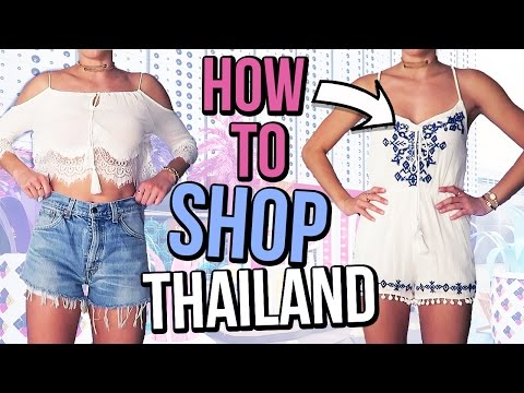 How To Shop In Bangkok Thailand | Cheap Clothing Try On Haul