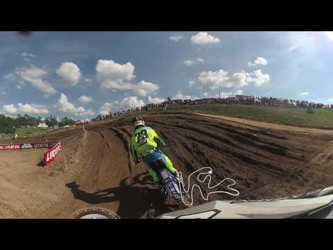 Garmin VIRB 360: Jeremy Martin Rides High Point National