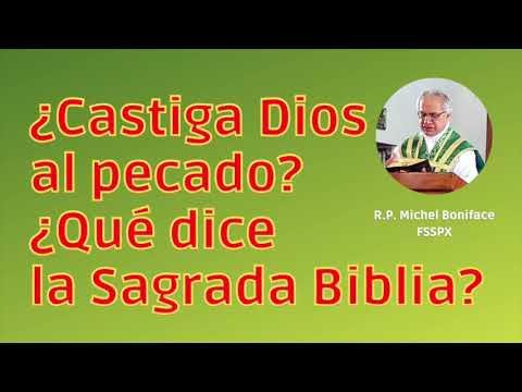 ¿Castiga Dios al pecado ¿Qué dice la Sagrada Biblia
