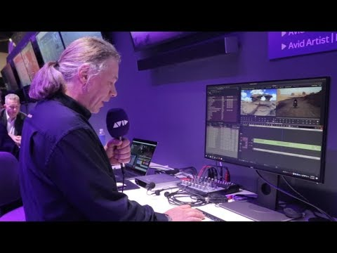 LIVE FROM #AVID AT #NABSHOW   Upcoming new features in Media Composer
