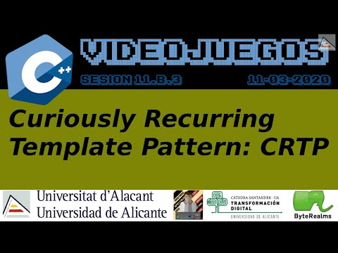C++ : Curiously Recurring Template Pattern (CRTP)