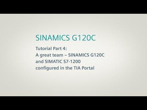 SINAMICS G120C, Tutorial Part 4