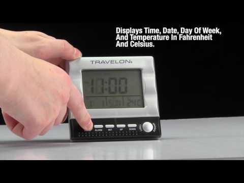 Large Display Travel Clock
