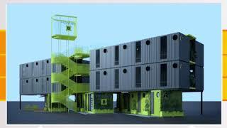 Empresa paisa fabrica hotel con contenedores - Telemedellín