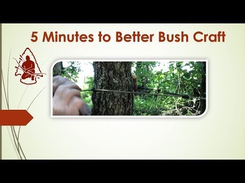 5 Minutes to Better Bushcraft Double  Prusik Tensioning System