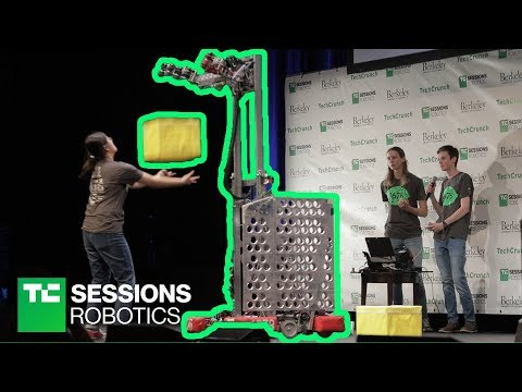High School Students Robotics Teams   TC Sessions Robotics 2018