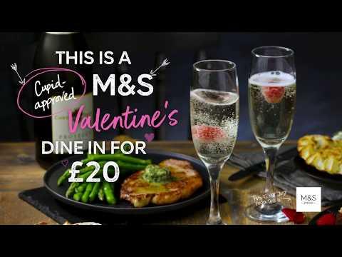 marksandspencer.com & Marks and Spencer Voucher Code video: M&S | M&S Valentine's Dine In