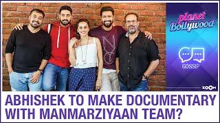 Abhishek Bachchan wants to re-unite with Manmarziyaan team for a food documentary - ZOOMDEKHO