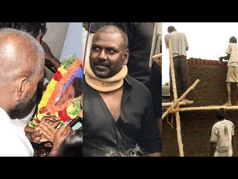 Raghava Lawrence builds a house for a Jallikattu Martyr   RK 121