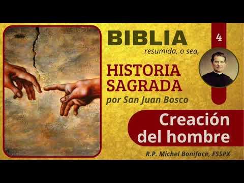 4 Creacion del hombre | Historia Sagrada