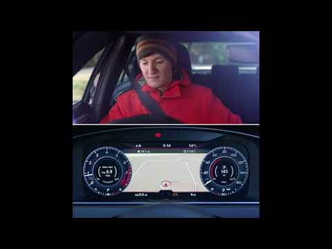Volkswagen Golf technology: Active Info Display