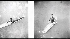 California Gold : Tom Blake Rodgers Co. Paddleboard