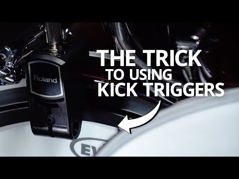 The Trick to Using Kick Drum Triggers