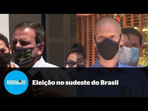 Paes vence no Rio e Covas em SP