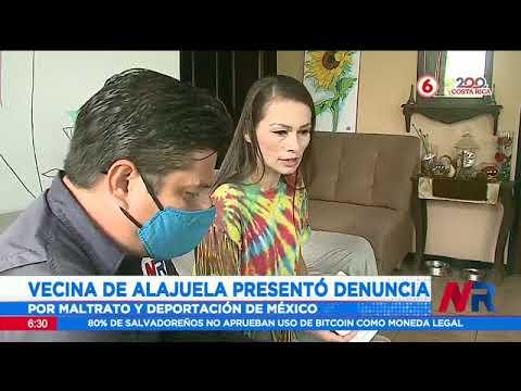 Vecina de Alajuela presentó denuncia por maltrato y deportación de México