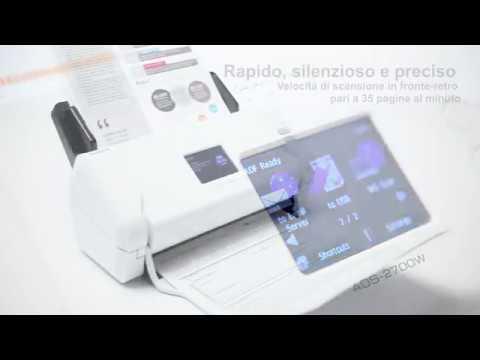 Scanner documentale con rete cablata e wireless ADS-2700W