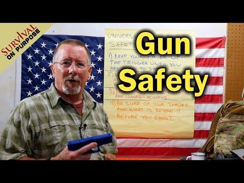 Gun Safety - Firearms Basics For New Gun Owners