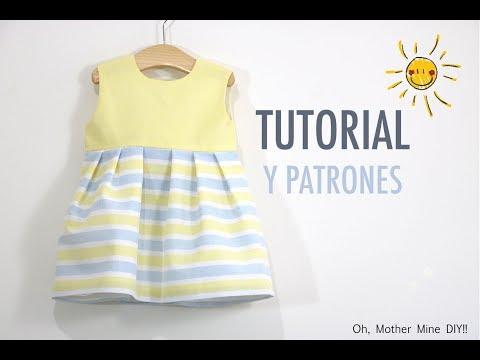 Costura: Vestido niña (patrones gratis talla hasta 8 años)