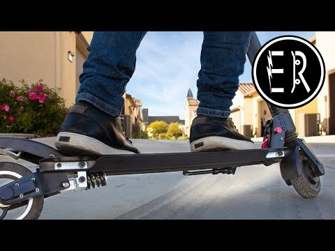 !GIVEAWAY! BEST FULL SUSPENSION electric scooter UNDER $400: Fluidfreeride Mosquito review