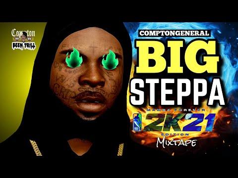 """NEW  NBA 2K21 """"BIG STEPPA"""" MIXTAPE🔥 BEST 6'7 DEMIGOD BUILD ON NBA 2K21🔥"""