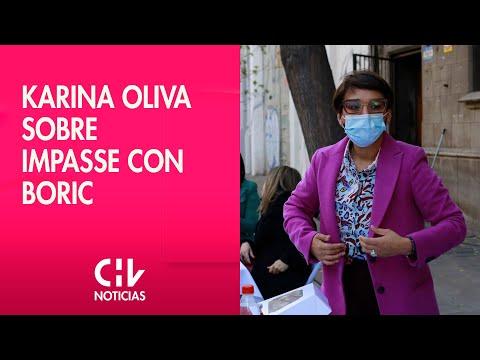 """Karina Oliva aseguró que superó el impasse con Boric: """"Ni por un millón de votos cambio mi programa"""""""