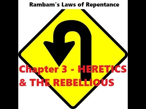 Mishneh Torah - Hilchot Teshuvah - Laws of Repentance Chapter 3