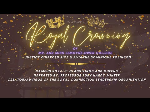 LeMoyne-Owen College 2020-2021 Royal Connection Crowning Ceremony