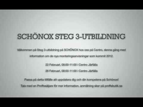 Schönox Steg 3 Utbildning
