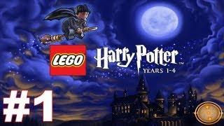 Lego Harry Potter Years 1-4 Walkthrough Part 1 The Magic Begins