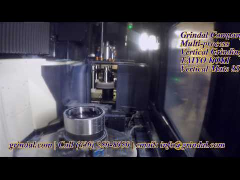 Grindal Company - Vertical Mate 85 Multi Process Vertical Grinding Machine