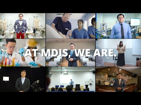 At MDIS, We Are.