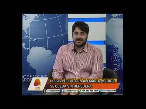 CRISIS POL�TICA EN ALEMANIA: MERKEL SE QUEDA SIN HEREDERA