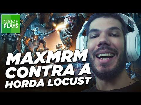 MaxMRM jogando o modo Horda   Gears of War 4