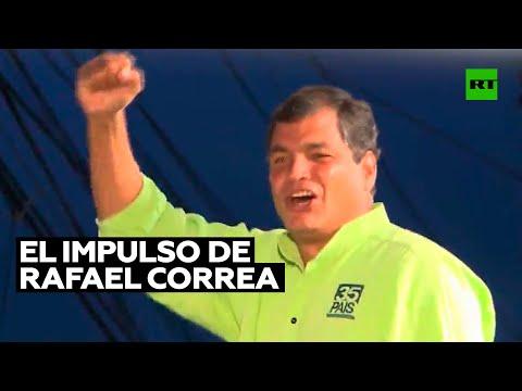 Experto: «El Gobierno ecuatoriano conoce perfectamente bien» el impulso que Rafael Correa genera