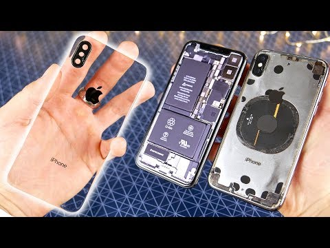 Totally Clear iPhone X Mod!