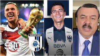 FICHAJES DE LIGA MX. Podolski rumbo al Querétaro. Moreno a Rayados, ¿y las Chivas | SportsCenter