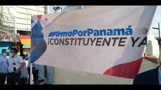 Firmo por Panamá inicia recolección de firmas para la Asamblea Constituyente