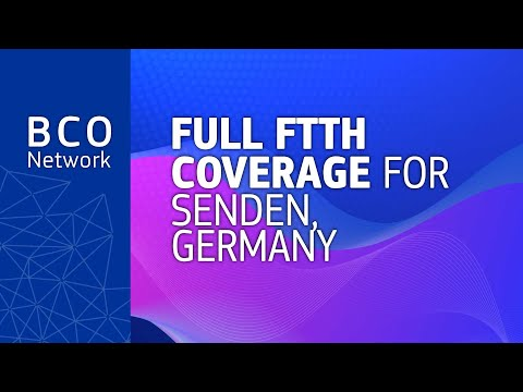 Full FTTH coverage for Senden, Germany photo