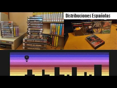 Distribuidoras de Software españolas en los 80 --- Commodore 64 Real 50Hz