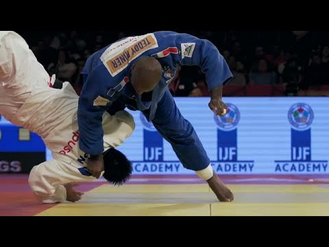 Brazil Judo Grand Slam: Main focus was on Teddy Riner of France photo