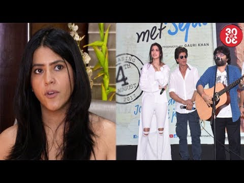 Ekta Talks About 'Lipstick Under My Burkha'   Pritam Avoids Commenting On Rishi Kapoor