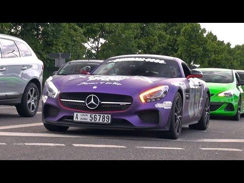 2015 Gumball3000 Mercedes AMG GT S – Loud Revs!